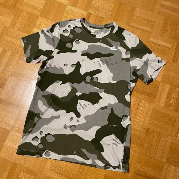 Nike Camo Training Shirt